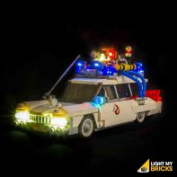 Lumières Pour LEGO SOS Fantômes Ecto-1 21108