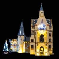Lumières Pour LEGO Tour Horloge Poudlard 75948
