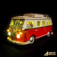Lumières Pour LEGO Van Volkswagen T1 10220