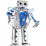 Mini Robot Métal Bleu