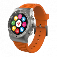 MyKronoz ZeSport orange montre connectée