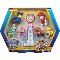 Pack of 6 figures Paw Patrol The Movie
