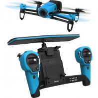 Pack Parrot Bebop Drone Bleu Extended Range Avec Skycontroller