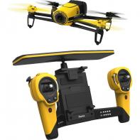 Pack Parrot Bebop Drone Jaune Extended Range Avec Skycontroller