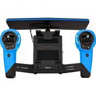 Parrot Skycontroller Rouge Pour Bebop Drone Bleu