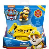 Paw Patrol Rubble Vehicle And Figure
