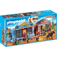 Playmobil 70012 Coffret de Far-West transportable