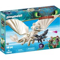 Playmobil 70038 Dragon light fury and baby dragon