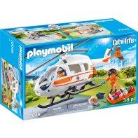 Playmobil 70048 Hélicoptère de secours