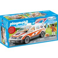Playmobil 70050 Voiture Et Ambulancier