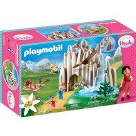 Playmobil 70254 Heidi, Peter And Clara At Crystal Lake