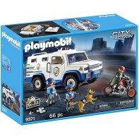 Playmobil 9371 Fourgon blindé