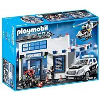 Playmobil Poste De Police City Action 9372