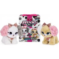 Present Pets Fancy Pups peluche interactive