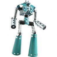 Robot Métal Bleu