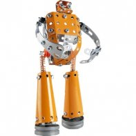 Robot Métal Orange