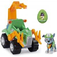 Rocky Pat Patrouille Dino Rescue Figurine et véhicule