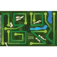 Sphero tapis d'activité golf