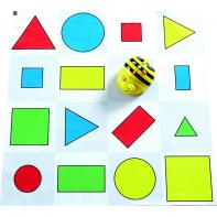 Tapis Formes, Couleurs Et Tailles BeeBot / BlueBot