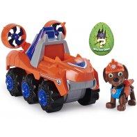Zuma Pat Patrouille Dino Rescue Figurine Et Véhicule