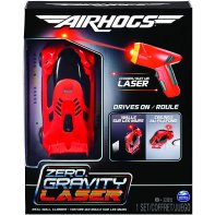 Air Hogs Zero Gravity Laser Voiture RC Rouge
