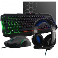 G-Lab Combo Argon Keyboard Mouse Headset Gaming