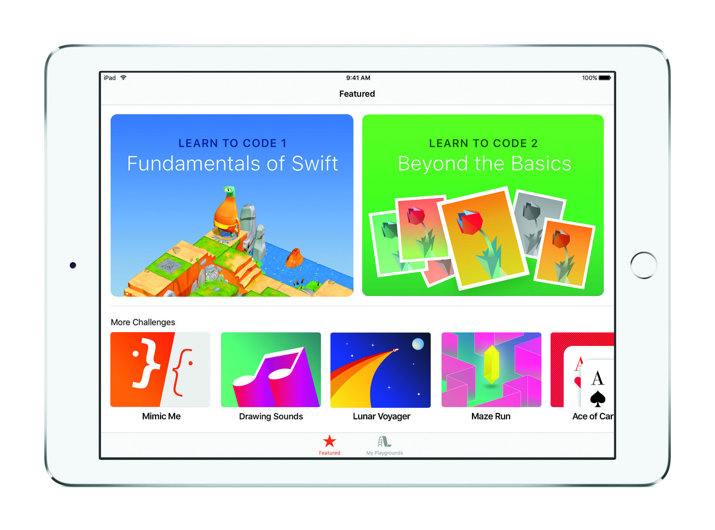 Swift Playgrounds 1.5: codez facilement