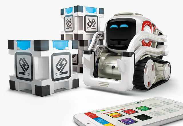 Cozmo robot: attention to emotions