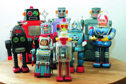 The toy robots in 2017 to discover!