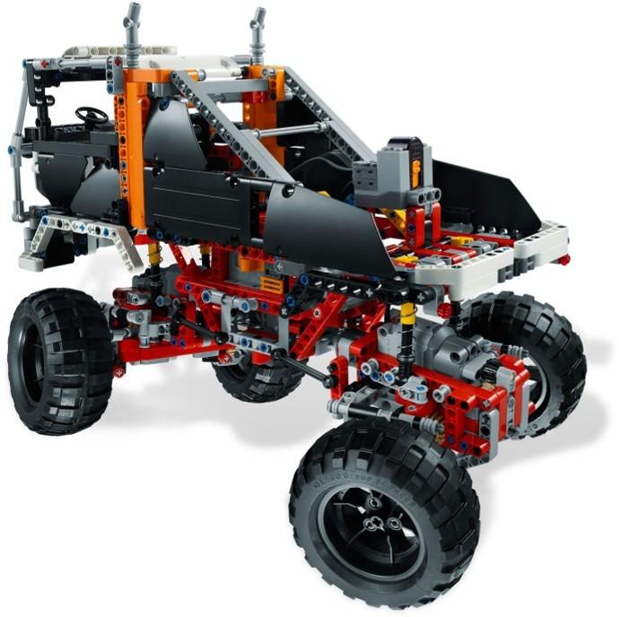 Acheter Un 4x4 Crawler Lego Technic 9398 Sur Robot Advance