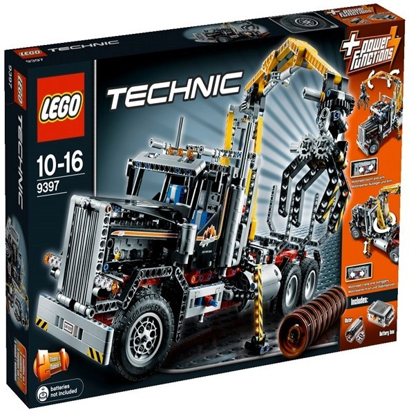 acheter un camion forestier lego technic 9397 sur robot advance. Black Bedroom Furniture Sets. Home Design Ideas