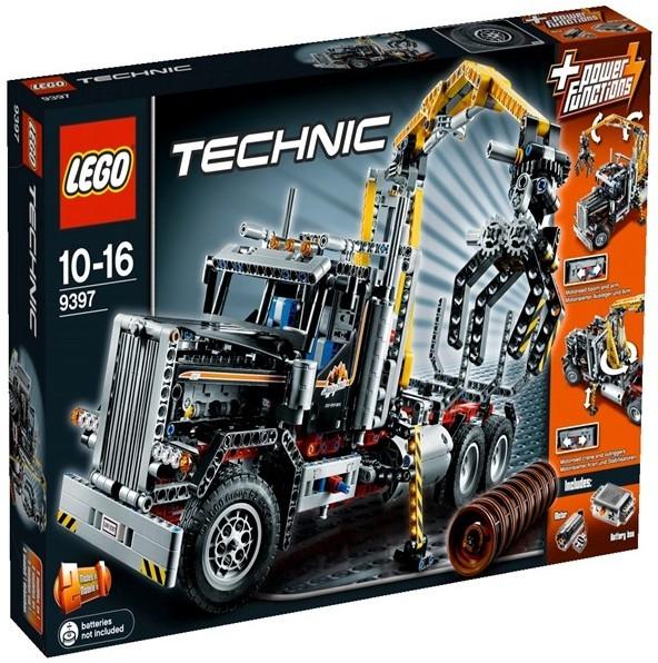 acheter un camion forestier lego technic 9397 sur robot advance. Black Bedroom Furniture Sets. Home Design Ideas
