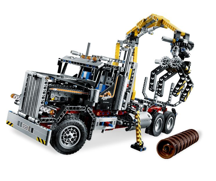 acheter un camion forestier lego technic 9397 sur robot. Black Bedroom Furniture Sets. Home Design Ideas