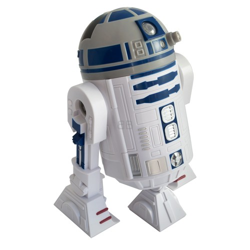 Coffre fort interactif star wars r2d2 robot advance - Robot blanc star wars ...