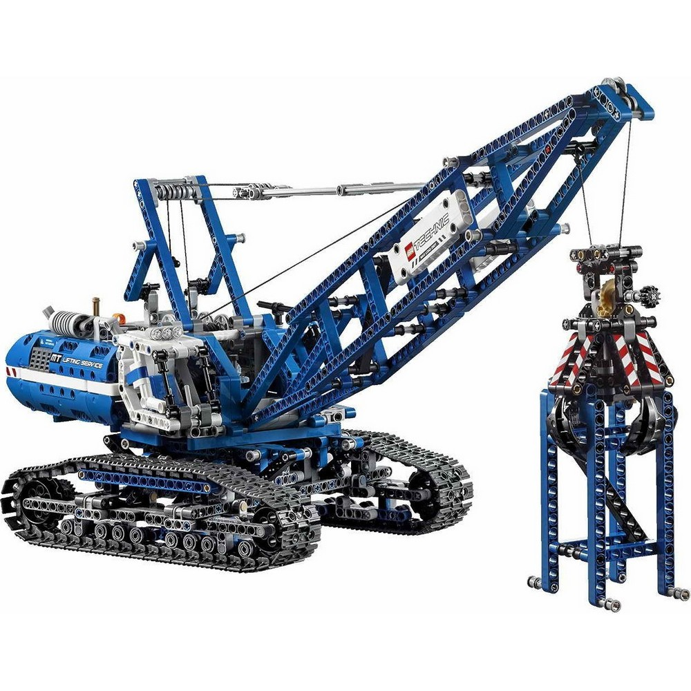 acheter un la grue sur chenilles lego technic 42042 sur robot advance. Black Bedroom Furniture Sets. Home Design Ideas