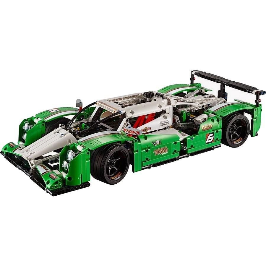 acheter un la voiture de course des 24h lego technic 42039 sur robot advance. Black Bedroom Furniture Sets. Home Design Ideas