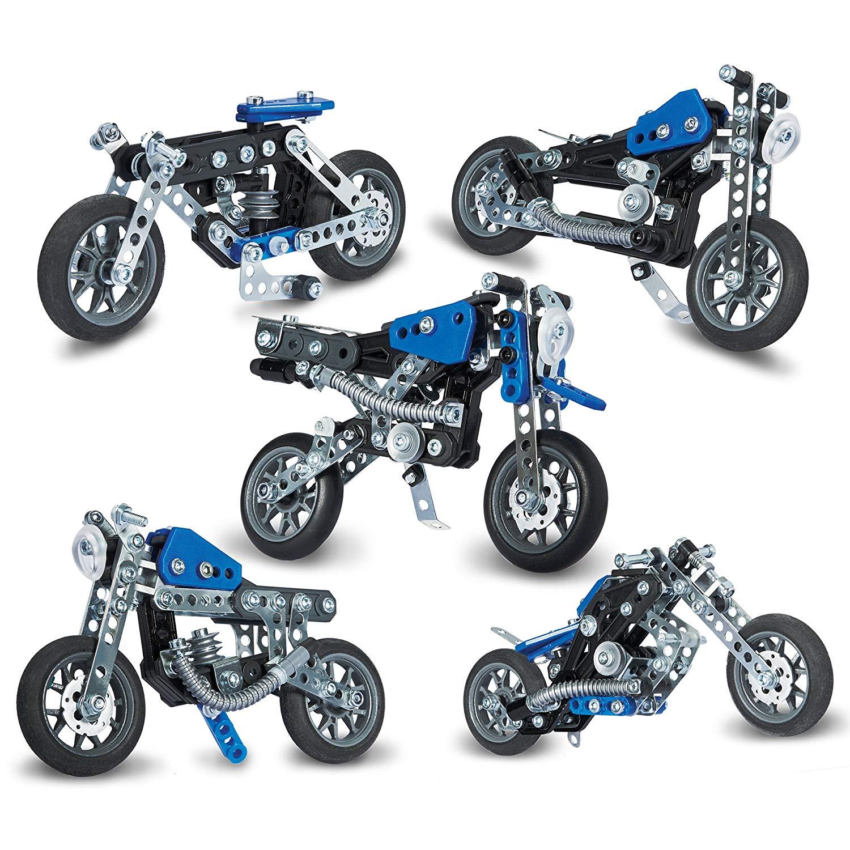 Meccano 5 Motos A Construire Jeu De Construction