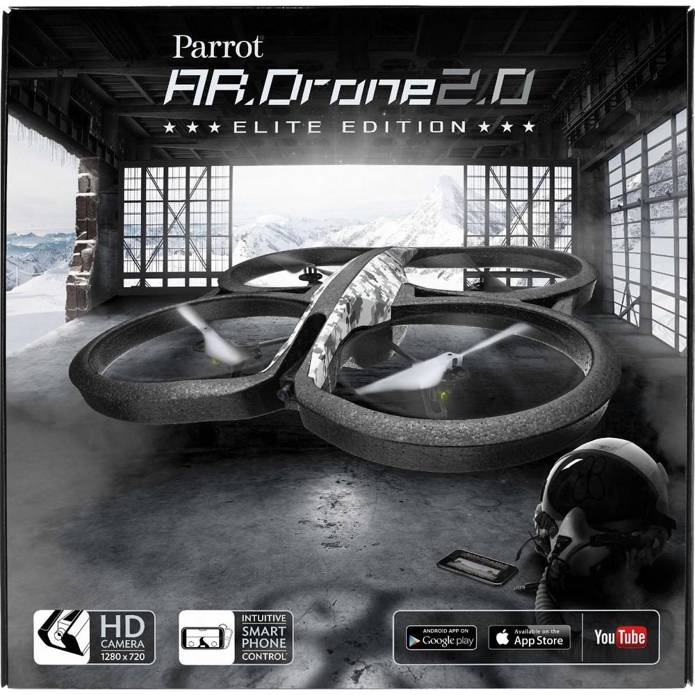 acheter un parrot ar drone 2 0 elite edition version snow sur robot advance. Black Bedroom Furniture Sets. Home Design Ideas