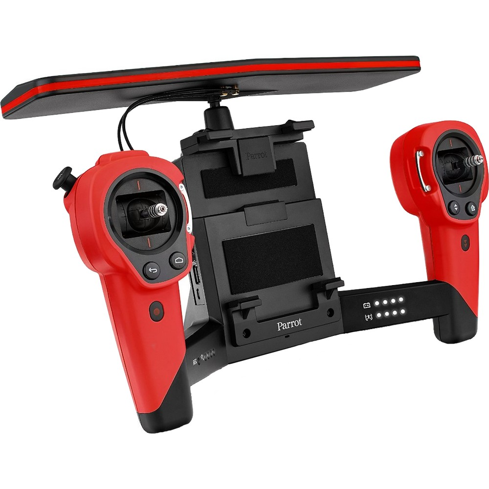 acheter un parrot skycontroller rouge pour bebop drone rouge sur robot advance. Black Bedroom Furniture Sets. Home Design Ideas