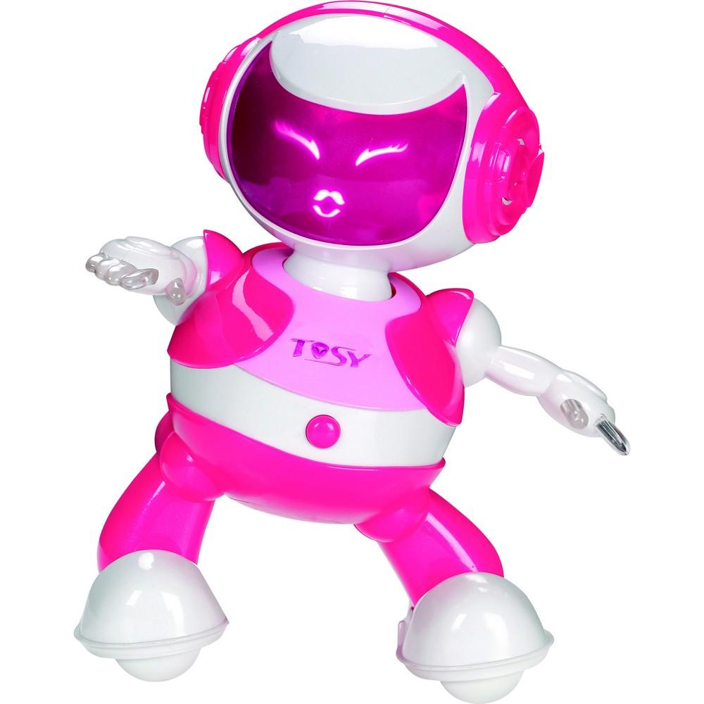 acheter un robot danseur tosy discorobo rose sur robot advance. Black Bedroom Furniture Sets. Home Design Ideas