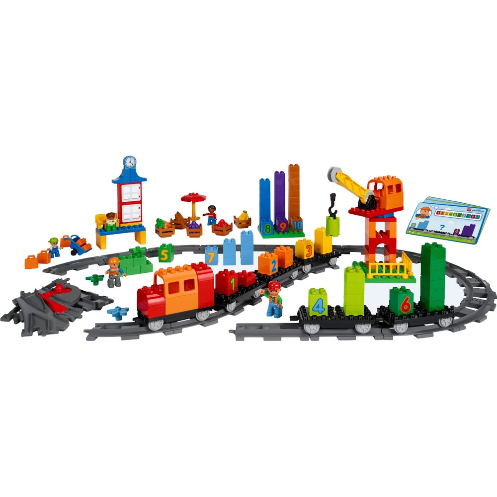 train des math matiques duplo lego education. Black Bedroom Furniture Sets. Home Design Ideas