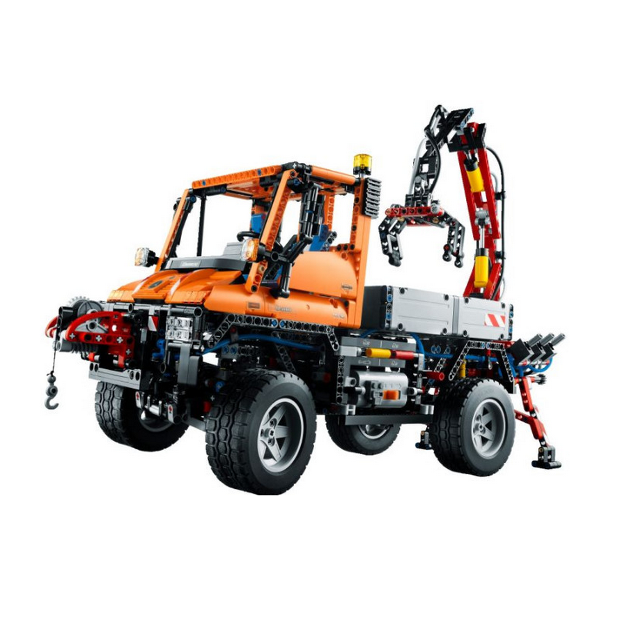 acheter un unimog u400 lego technic 8110 sur robot advance. Black Bedroom Furniture Sets. Home Design Ideas