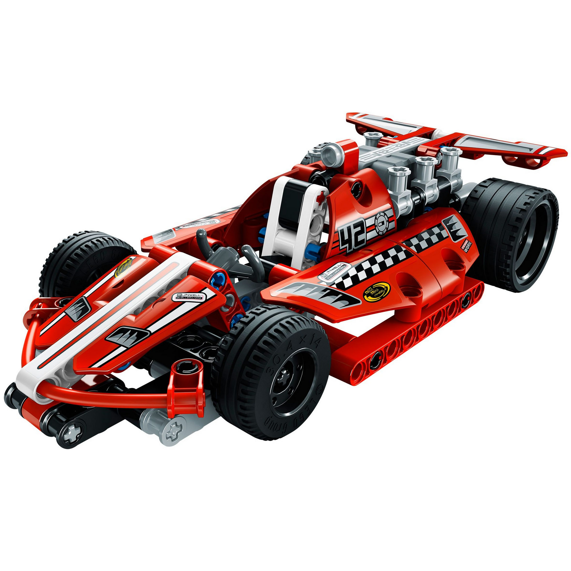 acheter une voiture de course lego technic 42011 sur. Black Bedroom Furniture Sets. Home Design Ideas