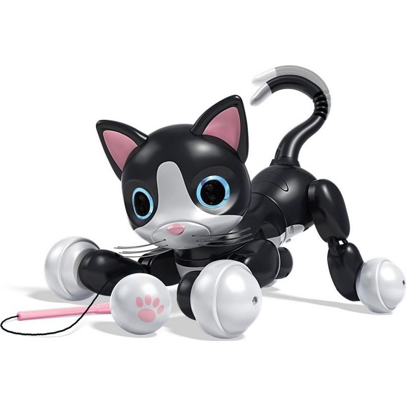 robot chat kitty de zoomer c lin et joueur. Black Bedroom Furniture Sets. Home Design Ideas