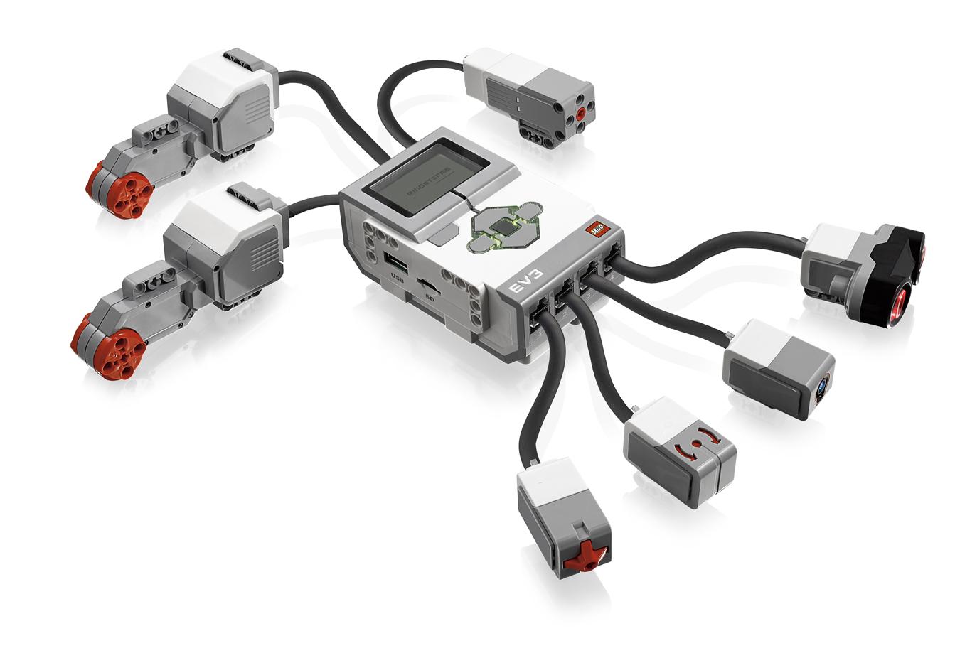 Brique intelligente du LEGO Mindstorms EV3