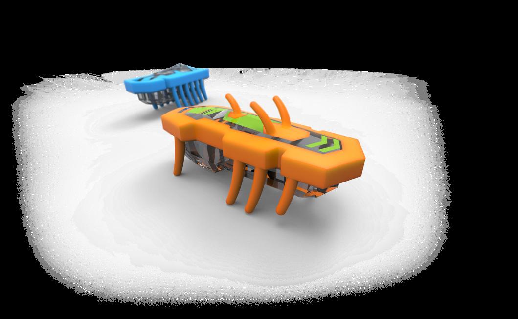 Hexbug Nano V2 anti gravité!