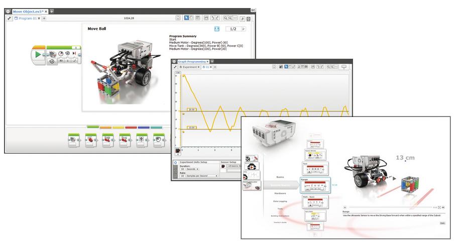 Logiciel LEGO Mindstorms EV3 version éducation