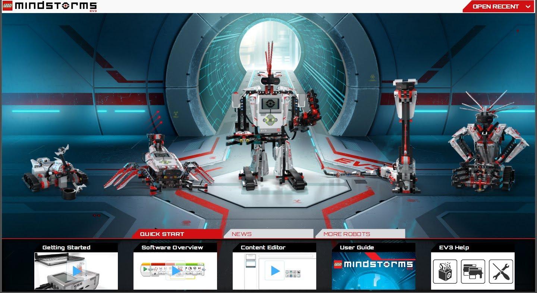 LEGO Mindstorms EV3 logiciel