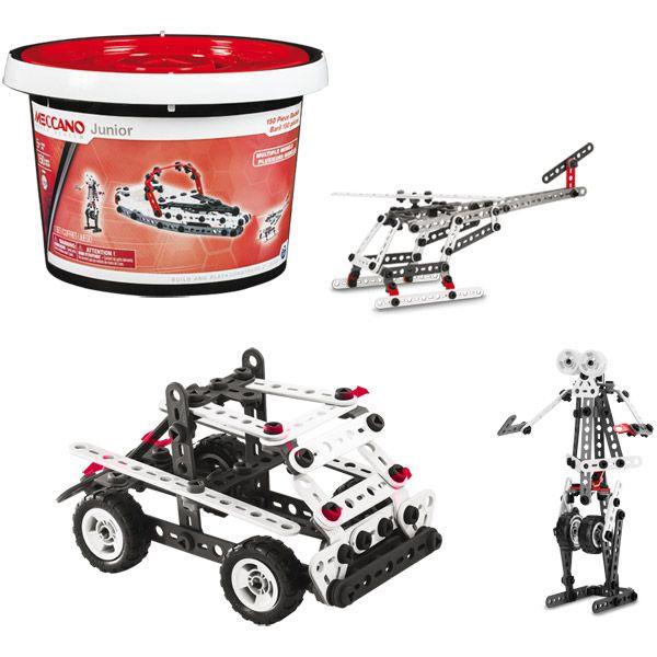 Barrel 150 pieces to be built Meccano Junior