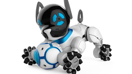 robot chien wowwee chip adoptez un chien robot high tech. Black Bedroom Furniture Sets. Home Design Ideas